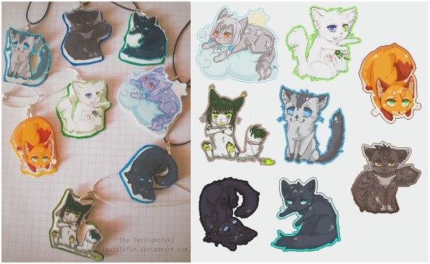Рисованные коты воители бич