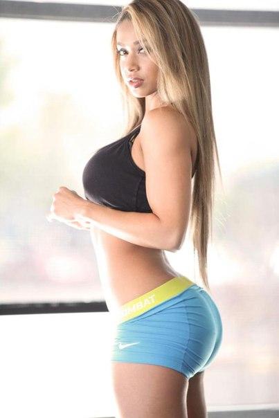 Skinny big ass