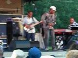 Hartford Jazz Fest 2012 - Elan Trotman on sax &amp Gerald Veasley on bass guitar