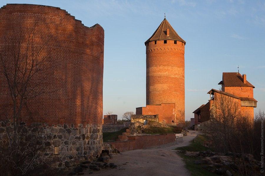 Латвия Турайда Сигулда замок крепость заповедник