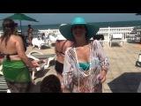 АМЕРИКА Русские Женщины на ПЛЯЖЕ Ormond beach Florida 01.09.2013