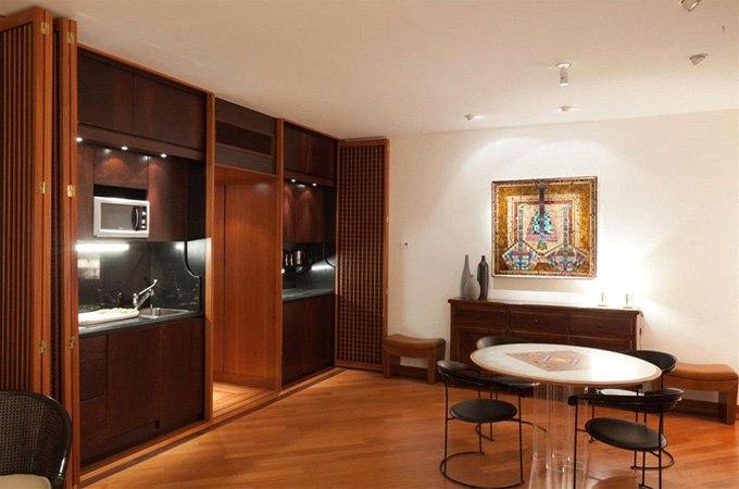 Дизайн квартиры-студии 45 м в Венеции / Италия - http://kvartirastudio.