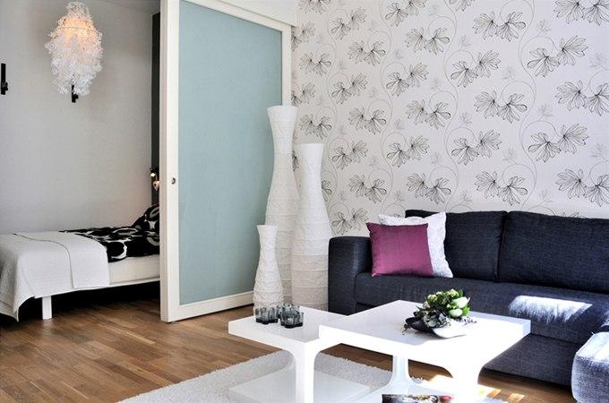 Квартира-студия 49 м с террасой в центре Мальмё / Швеция - http://kvartirastudio.
