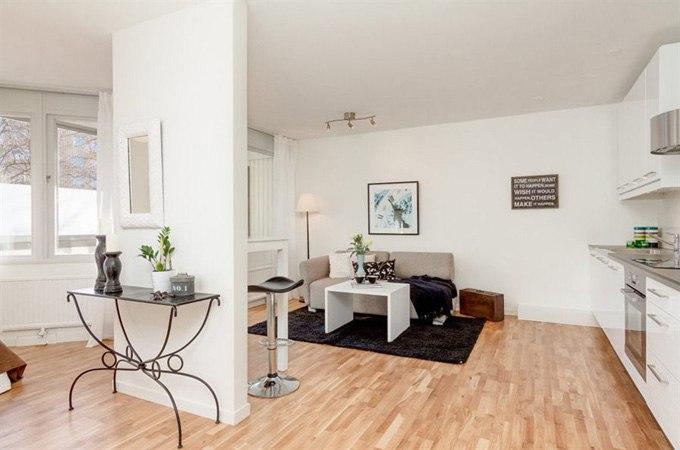Квартира-студия 31 м в Гётеборге / Швеция - http://kvartirastudio.