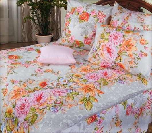семейный комплект постельного белья с двумя пододеяльниками купить