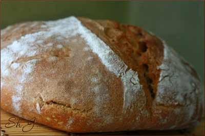 Готовим бездрожжевой хлеб. Хлеб из пророщенных зёрен пшеницы.