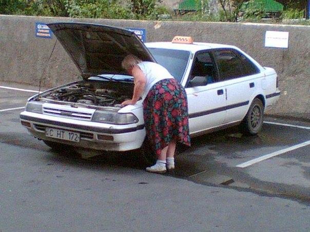 Автоприколы на российских дорогах
