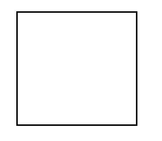 Черно белые рисунки на квадрате