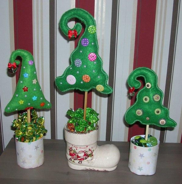 Новогодние сувениры своими руками из подручных материалов