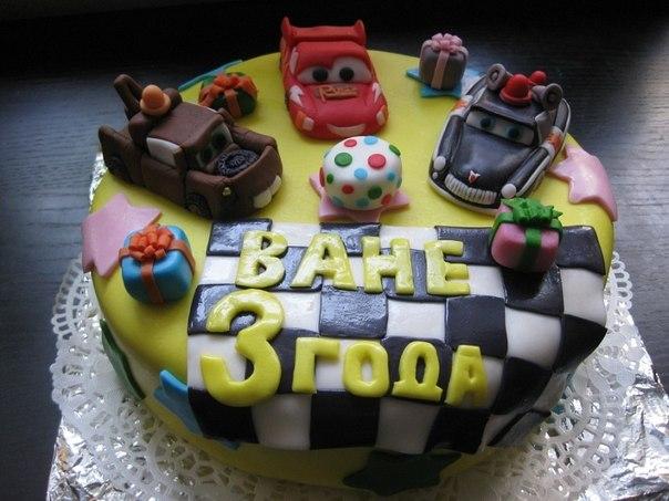 Тортик для мальчика 3 года