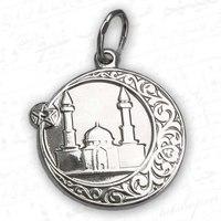 Обложка Полумесяц + мечеть (круглый).