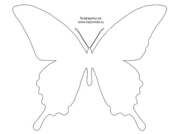 Шаблоны бабочек для украшения