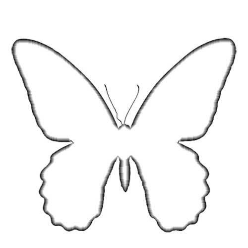 шаблоны бабочек - Самое интересное в блогах