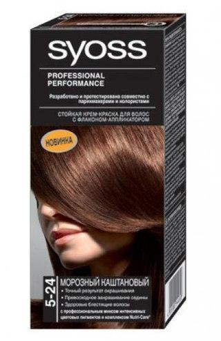 Для волос syoss палитра палитра цветов