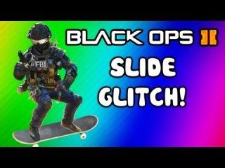 Black Ops 2 Sliding Glitch + Tutorial (Funny Moments, Trolling, Killcams, Skateboarding Fun)