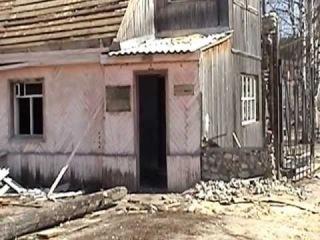 Бывшая зона поселения в поселке Н-Турунью.