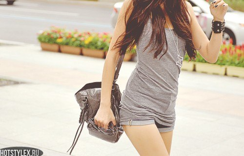 В очках. Категории Fashion. Кореянки.