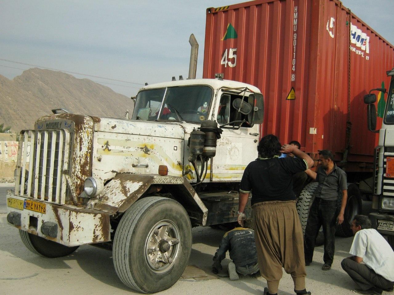 Автостоп в Иране