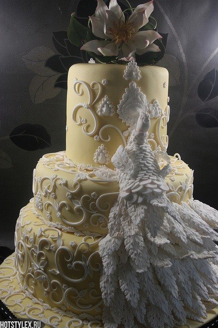 Торты на свадьбу красивые