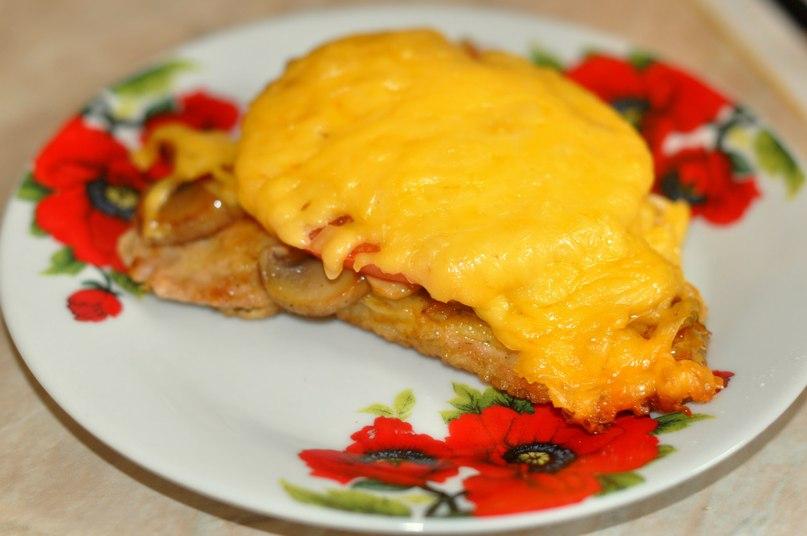 мясо по французски рецепт с помидором рецепт фото
