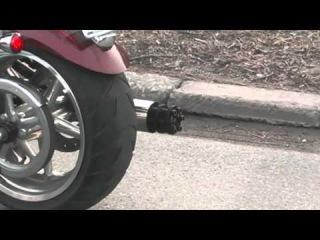 Gattling Gun Motorcycle Exhaust Tailpipe