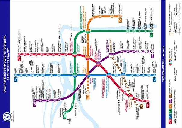Маршруты городского транспорта