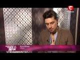 Дима Билан на съемках клипа