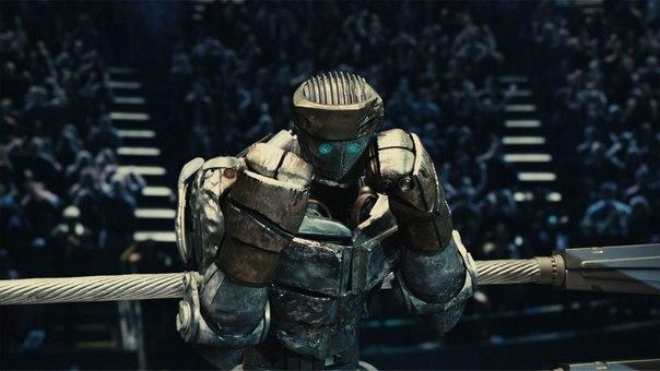 Робот Атом готовится к атаке