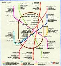 2. 0 У меня есть старая схема Московского метро, только я не знаю.