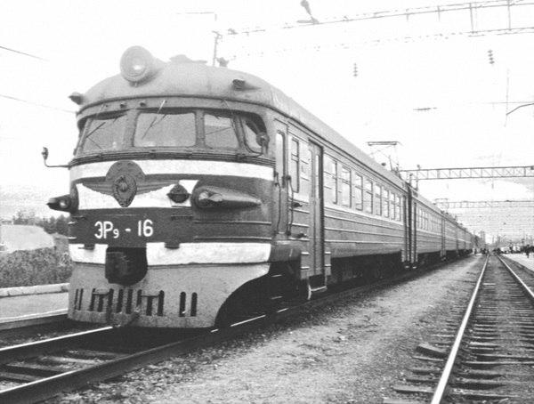 электрички горьковского