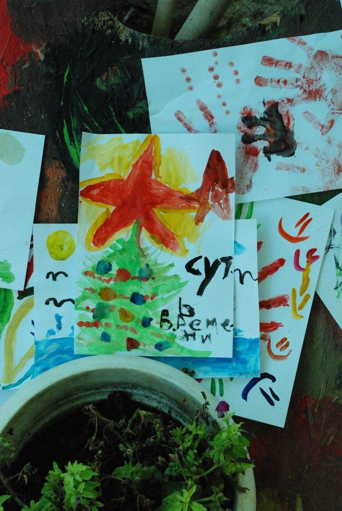 """Памятный подарок одного из ребятишек активистам """"СВ-Севастополь"""""""