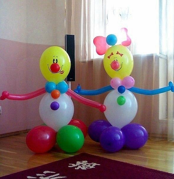Фигуры из шаров своими руками пошаговое фото