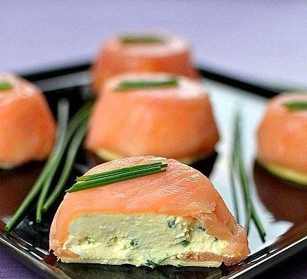 жюльен из лосося - natuska