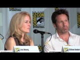 The X-Files 20th anniversary reunion panel at San Diego Comic-Con 2013