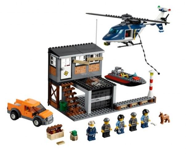 купить lego полицейский участок 60047