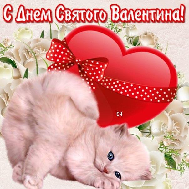 Прикольное поздравление с днем святого валентина для друга