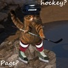 Hockey? Page?