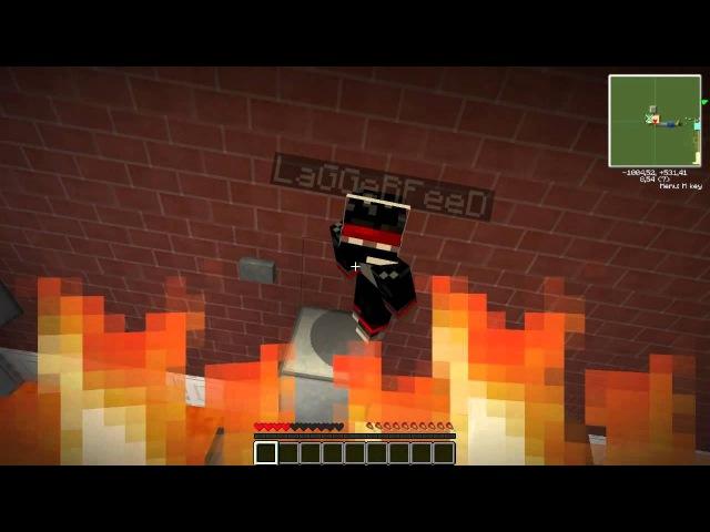 minecraft прохождение карты #1 мистик и лаггер 15