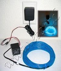 Схема подключения холодного неона.  Стробоскопы.