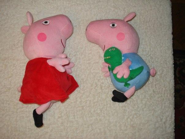 Свинку пеппу игрушку своими руками