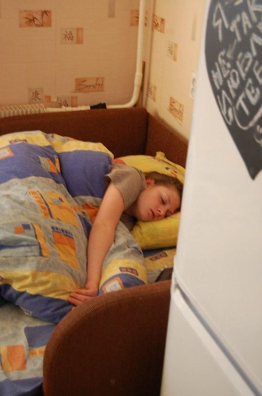 фотографии пяной спяшой сесры