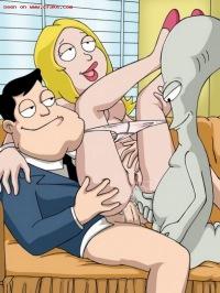Порно мульт сереал амереканский папаша