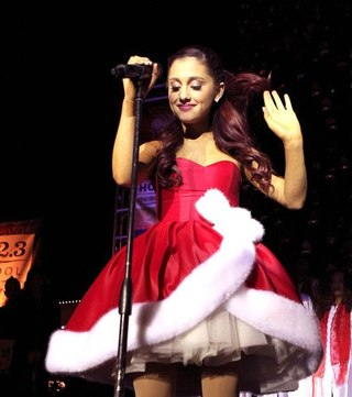Ariana Grande Christmas Outfit 2012 Whose New Year s outfit is