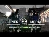 Splinter Cell Blacklist - Spies Vs Mercs Trailer - FR - PS3 Xbox360 WiiU PC