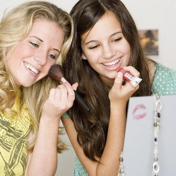 Играть во взрослый макияж