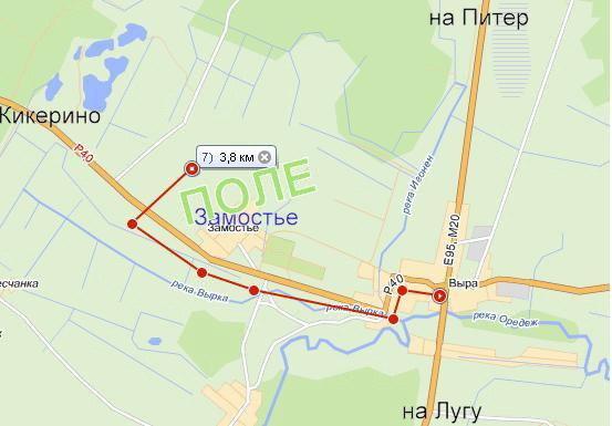 Карта проезда к Пара-Туутари