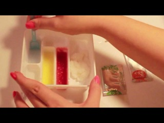 Как делают суши . Sushi made out of Powder - Popin' Cookin'