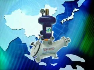 Серийно выпускаемый гидротаранный насос (Ram water pump)