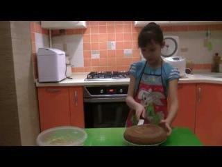 Рецепт торта кофейного в мультиварке - Готовим с Ангелиной