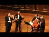 Brahms - String Quartet in A minor, Opus 52, no.2 - IV. Finale - Allegro non assai - Emerson